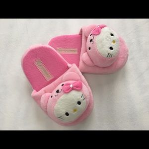 Hello Kitty Pink Plushie Slippers